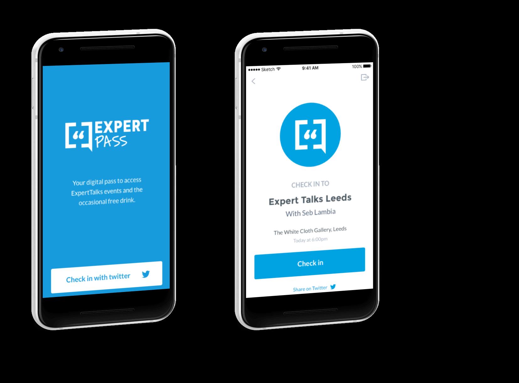 ExpertPass | Ben Hayward – UX designer